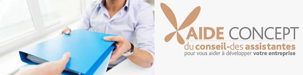 Des assistantes pour vous aider à développer votre entreprise sur le Pays d'Aix en Provence - Aide Concept